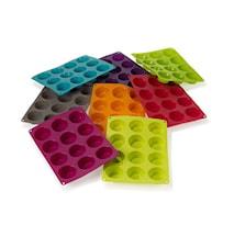 Muffinsform 12 hål silikon