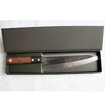 Keramisk kockkniv 18 cm svart
