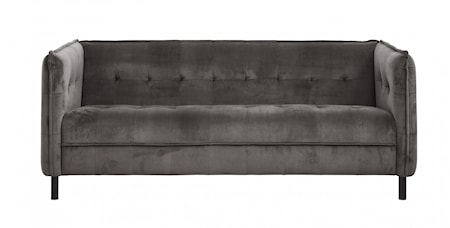 Nordal Soffa Velvet Warm grey