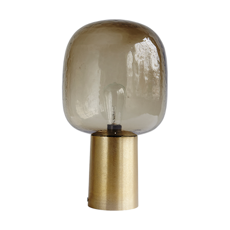 Bilde av House Doctor Note lampe Grå/Messing 28 cm