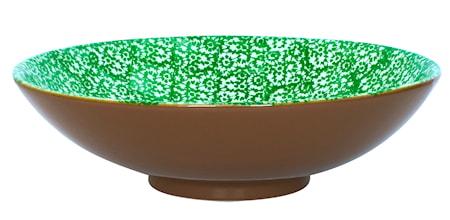 Vesta Salladsskål Grön 35 cm