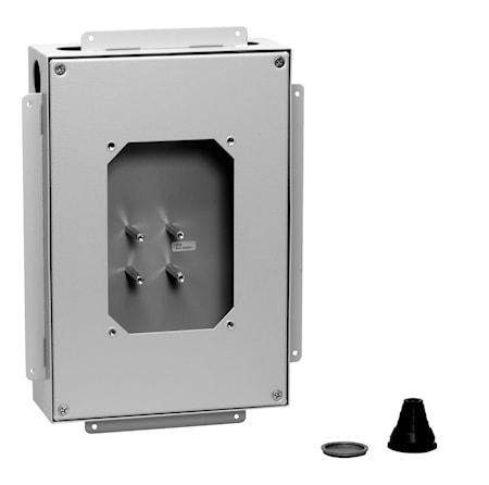 Tapwell Inbyggnadsbox för BOX 015/268/368 T BOX 3725 Pulverlack
