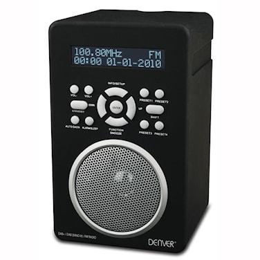 FM-radio Svart