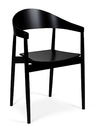 Ekdahls Joiner stol - Svart björk