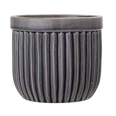 Bilde av Blomsterkrukke Stone Grey Ø14,5 cm
