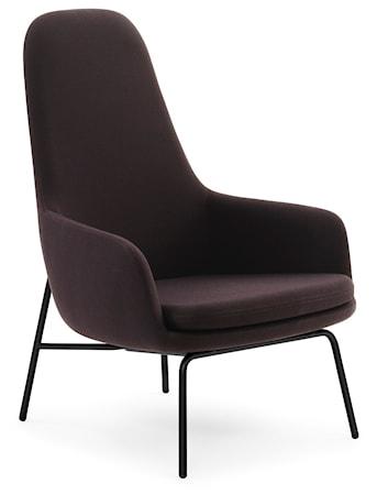 Normann Copenhagen Era Lounge Chair High Steel - Fame