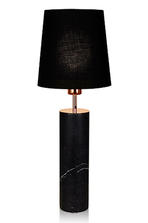 Bilde av Globen Lighting Bordlampe Carrara Svart