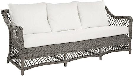 Artwood Marbella 3-sits soffa inkl. dynor – Vintage