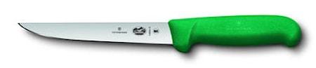 Victorinox Urbeningskniv 15 cm rakt brett blad Fibrox grön