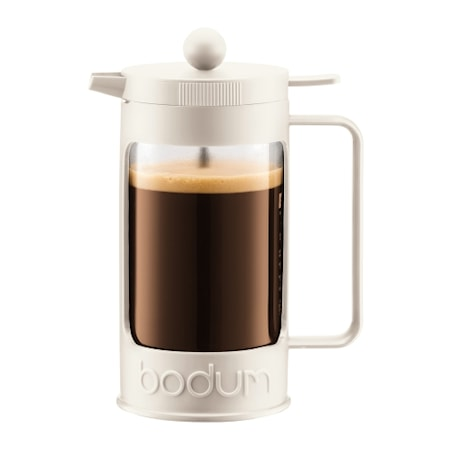 Bodum Bean Kaffebrygger 8 kopper 1 liter Hvid thumbnail