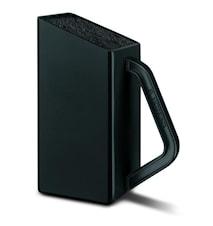 Demo-Ex Litet knivblock, svart, utan knivar, SwissClassic