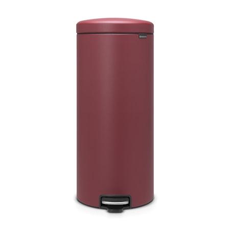 Brabantia Pedalhink newIcon plastinnerhink 30 L Mineral Windsor Red
