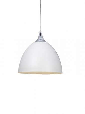 Cottex Läza Ceiling Lamp White with Chrome details
