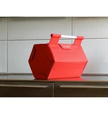 Zebag Red- Transportväska för 6 fl.