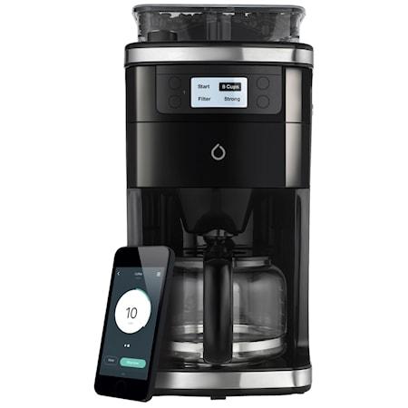 Smarter Coffee 2.0 App-styrd Kaffebryggare med Kvarn, 12 koppar thumbnail