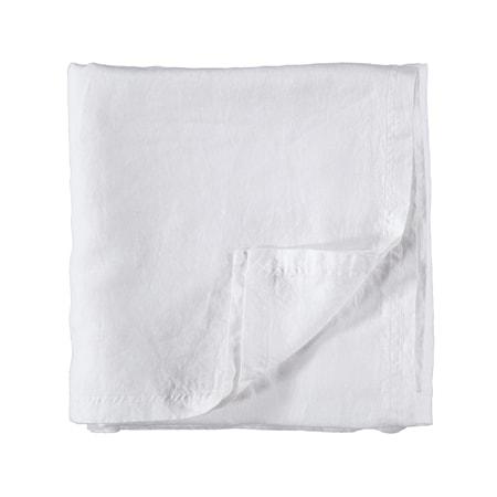 Gripsholm Pellavaliina 145x250 cm - Valkoinen