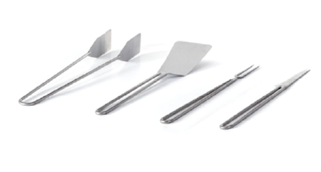 Airone Kit 4 cooking accessories in stainless steel