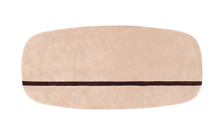 Normann Copenhagen Oona Matta Rosa 90×200 cm