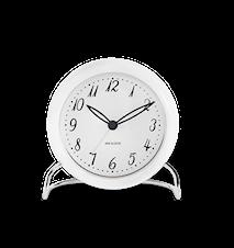 Arne Jacobsen LK bordsur, vit/vit, Ø 11 cm, alarmfunktion