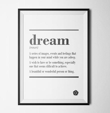 Bilde av Konstgaraget Dream poster