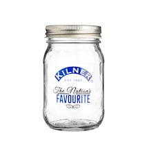 "Konserveringsburk ""Nations Favourite"" Kilner"