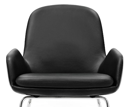 Normann Copenhagen Era Lounge Chair Low Steel - Tango