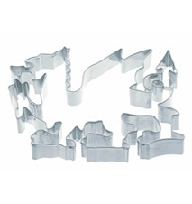 Kakform Drake Metall 15 cm