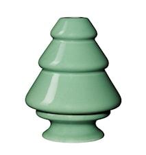 Avvento ljusstake Grön H 12,5 cm