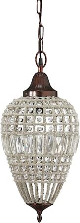 Bilde av PR Home Clemont Taklampe Antik/Diamant 25cm