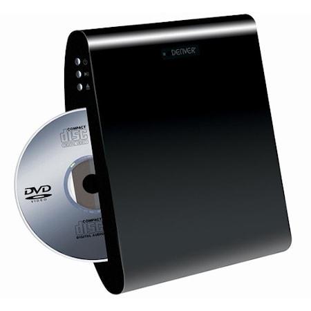 Denver DVD HDMI/USB väggmonterbar