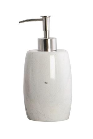 House Doctor Saippuapumppu Marble 8×18 cm – Valkoinen