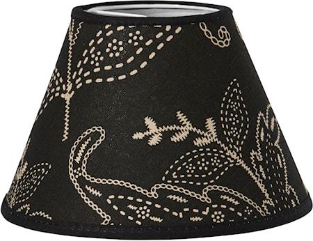 Bilde av PR Home Royal Lampeskjerm Slinga Svart 16cm