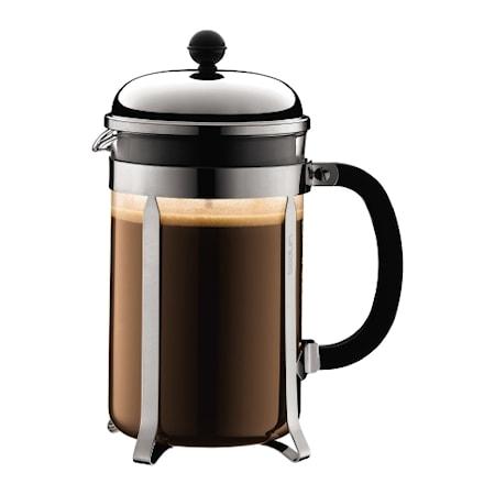 Bodum Chambord Kaffebrygger 12 kopper 1,5 liter thumbnail