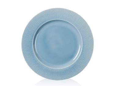 Middagstallrik flat Ø27 cm Colormix Blå