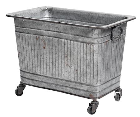Nordal Raw metallbeholder på hjul