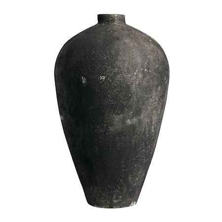 Luna Kruka Svart Terracotta 130x73cm