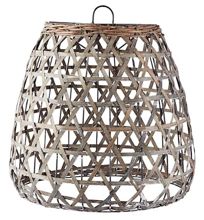 KJ Collection Lampunvarjostin Harmaa 42 cm