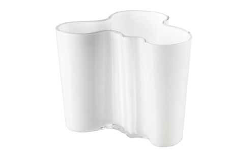 Bilde av Aalto Vase Hvit 120 mm