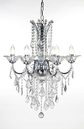 Bilde av Globen Lighting Pendel Versailles Krom