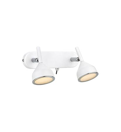 Bilde av Markslöjd Bell Vegglampe 2 Lys Hvit