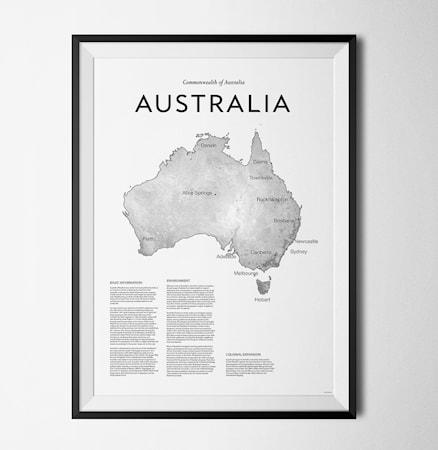 Bilde av Konstgaraget Australia 114 poster