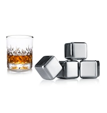 Whiskey Stenar Set om 4