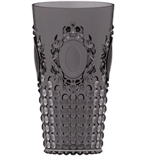 Dricksglas 9,5x16,5 cm Svart Akryl
