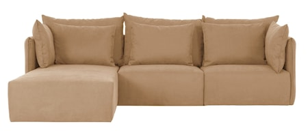 Temahome Dune Soffa med chaise longue - beige