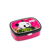 Matlåda campus Panda rosa Rost