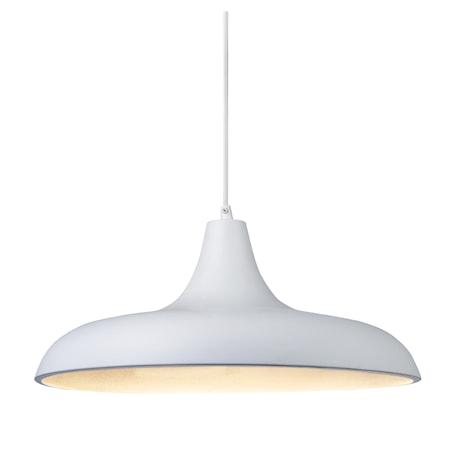 Bilde av Markslöjd Bryne Taklampe Hvit/Sølv 40 cm