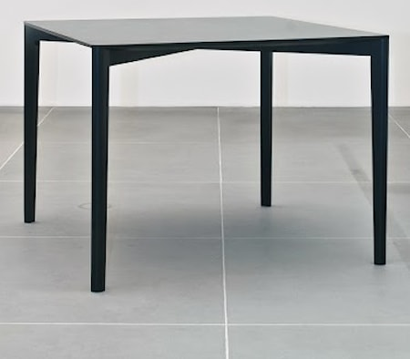 L'abbate Framework table ? Svart, 100x100