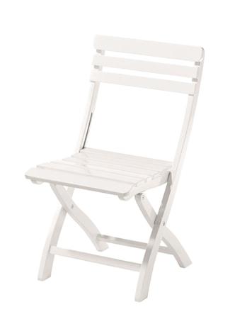 Cinas Clarish trädgårdsstol ? Vit, mahogany