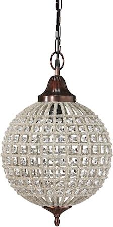 Bilde av PR Home Toulouse Taklampe Antik/Diamant 47cm