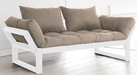 KARUP Edge soffa - vit/beige
